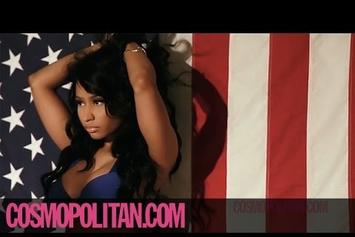 Nicki Minaj Cosmopolitan Photo Shoot (BTS)