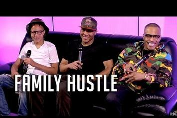 T.I. & His Sons On HOT 97