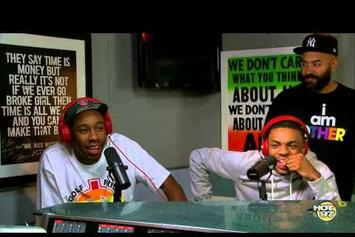 Vince Staples & Tyler, The Creator Freestyle On Real Late With Peter Rosenberg