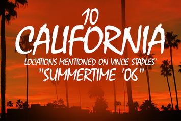 "10 California Locations Mentioned On Vince Staples' ""Summertime '06"""
