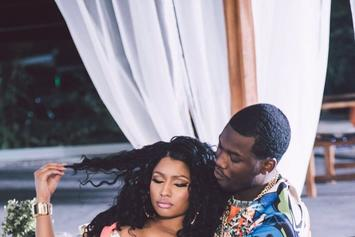 "Nicki Minaj Shares BTS Photos From Meek Mill's ""All Eyes On You"" Video Shoot"