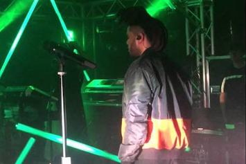 The Weeknd Debuts New Track In London