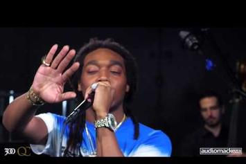"Migos Perform ""Handsome & Wealthy"" Backed By An Orchestra"