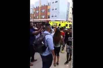 """Crowd Responds To Police Harassment By Chanting Kendrick Lamar's """"Alright"""""""