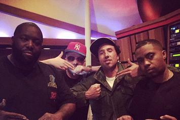 Nas & Zach De La Rocha Hit The Studio With Run The Jewels