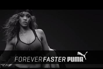 Rihanna Stars In New Puma Training Ad