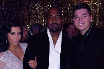 "Kanye West Performs ""Happy Birthday"" At Kris Jenner's 60th Blowout"