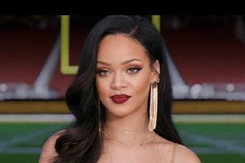 Rihanna Stars In Joint Super Bowl & Grammy Commercial