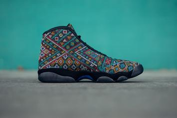 Air Jordan Horizon Gets Wild Pattern For All-Star Weekend