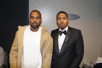 Kanye West Says He Promised President Obama He'd Produce On Nas' Next Album