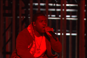 """A$AP Ferg Performs """"New Level"""" At MTV Woodie Awards"""