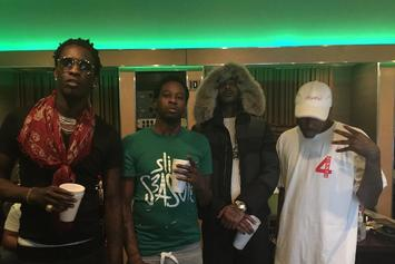 Duke Was In The Studio With YG, Young Thug & Nipsey Hussle Last Night