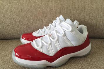 "The Air Jordan 11 Low ""Varsity Red"" Will Return This Summer"
