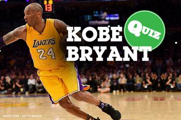 Quiz: How Well Do You Know Kobe Bryant?