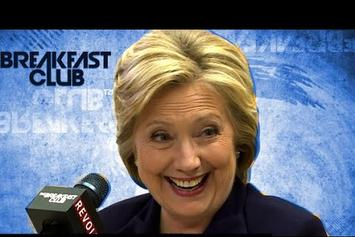 Hillary Clinton On The Breakfast Club
