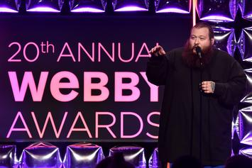 Kanye West Delivers 5-Word Acceptance Speech, Action Bronson Presents At Webby Awards