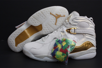 """Champagne"" Air Jordan 8 Officially Unveiled"