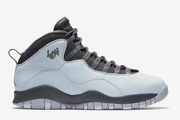 """Official Images Of The """"London"""" Air Jordan 10 Revealed"""