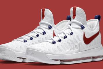 "Kevin Durant's Olympic Sneakers, The ""Premiere"" Nike KD9 Will Release Tomorrow"