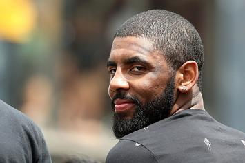 Kyrie Irving Responds To The People Who Are Complaining That He Only Parties With White Girls