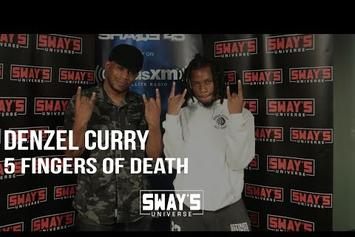 """Denzel Curry """"5 Fingers Of Death"""" Freestyle"""