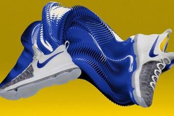 The Nike KD9 Is Now Available For Customization In Warriors Colors Via NikeID