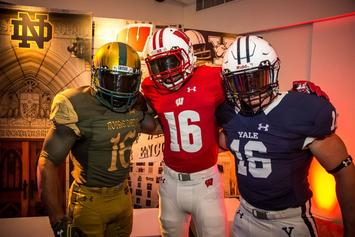 "Under Armour Introduces New ""Shamrock Series"" Uniforms For Notre Dame"