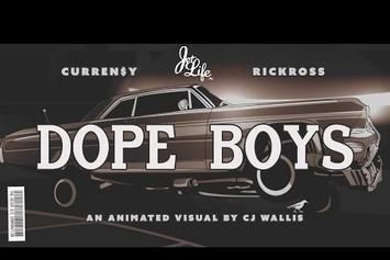 """Curren$y Feat. Rick Ross """"Dope Boys"""" Video"""