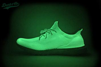 "Check Out This Custom ""Glow"" Adidas UltraBOOST Uncaged"