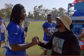 "Kendrick Lamar, ScHoolboy Q Make An Appearance On HBO's ""Hard Knocks"""