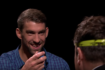 "Watch Michael Phelps Play ""Egg Russian Roulette"" With Jimmy Fallon"