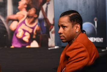 Allen Iverson Tears Up During Emotional HOF Press Conference