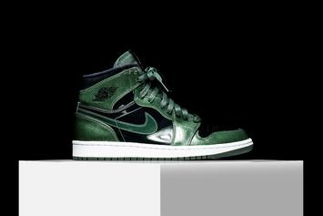 "Patent Leather ""Grove Green"" Air Jordan 1 To Release This Weekend"