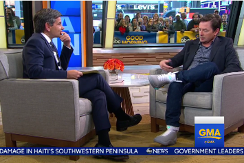 Michael J. Fox Debuts The Nike Mag On Good Morning America