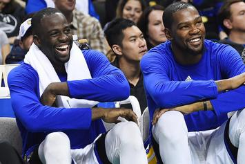 Watch Kevin Durant And Draymond Green Party With Travis Scott In Las Vegas