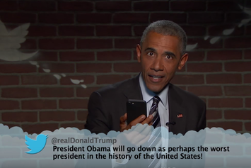 Watch President Obama Read Mean Tweets