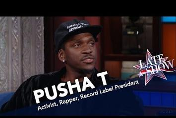 "Pusha T: Mass Incarceration is ""Tearing Apart Our Community"""
