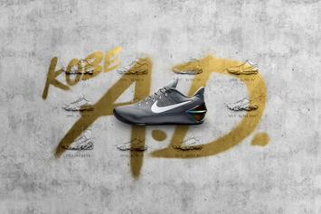 Nike Introduces The Kobe AD, Kobe Bryant's First Post-Retirement Shoe