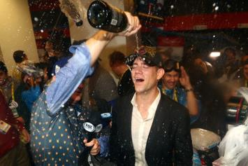 "Cubs' Theo Epstein Says He's ""Going On A Bender"" Following World Series Victory"