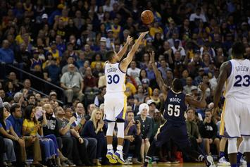 Watch Steph Curry Break The NBA's Single-Game 3 Point Record