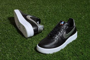 """Nike Releases A New """"Patriots"""" Air Force 1 Low"""