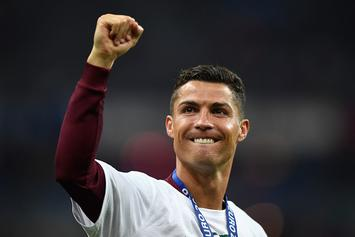 Cristiano Ronaldo Suggests He Has A Lifetime Deal With Nike
