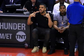 "Drake Announces Toronto Raptors ""Drake Night"" Will Be Held Next Week Against The Warriors"