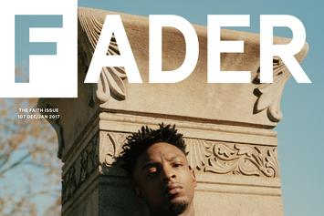21 Savage Covers The Fader