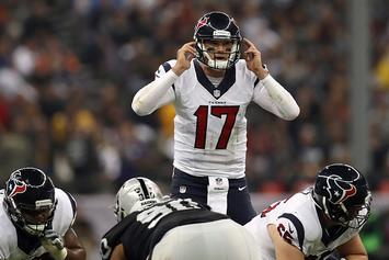 "Brock Osweiler Says Laser Pointers ""Certainly Affected"" His Play Last Night"