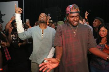 "Pusha T Celebrates 6th Anniversary Of Kanye West's ""MBDTF"" On Instagram"