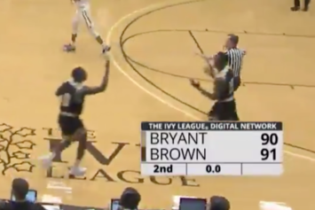 Bryant Basketball Player Dribbles Out The Clock, Forgets His Team Is Losing By 1