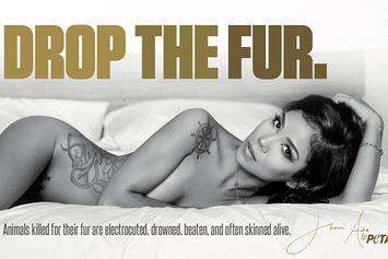 Jhene Aiko Poses Nude For PETA