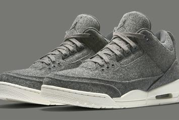 "Air Jordan 3 ""Wool"" Release Procedure For This Saturday"