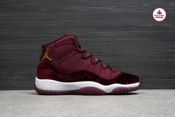 "Air Jordan 11""Heiress"" Release Procedure"